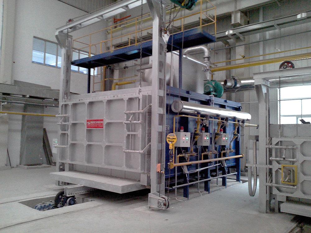 河南台车燃气炉生产厂家 天利工业炉 数十年经验