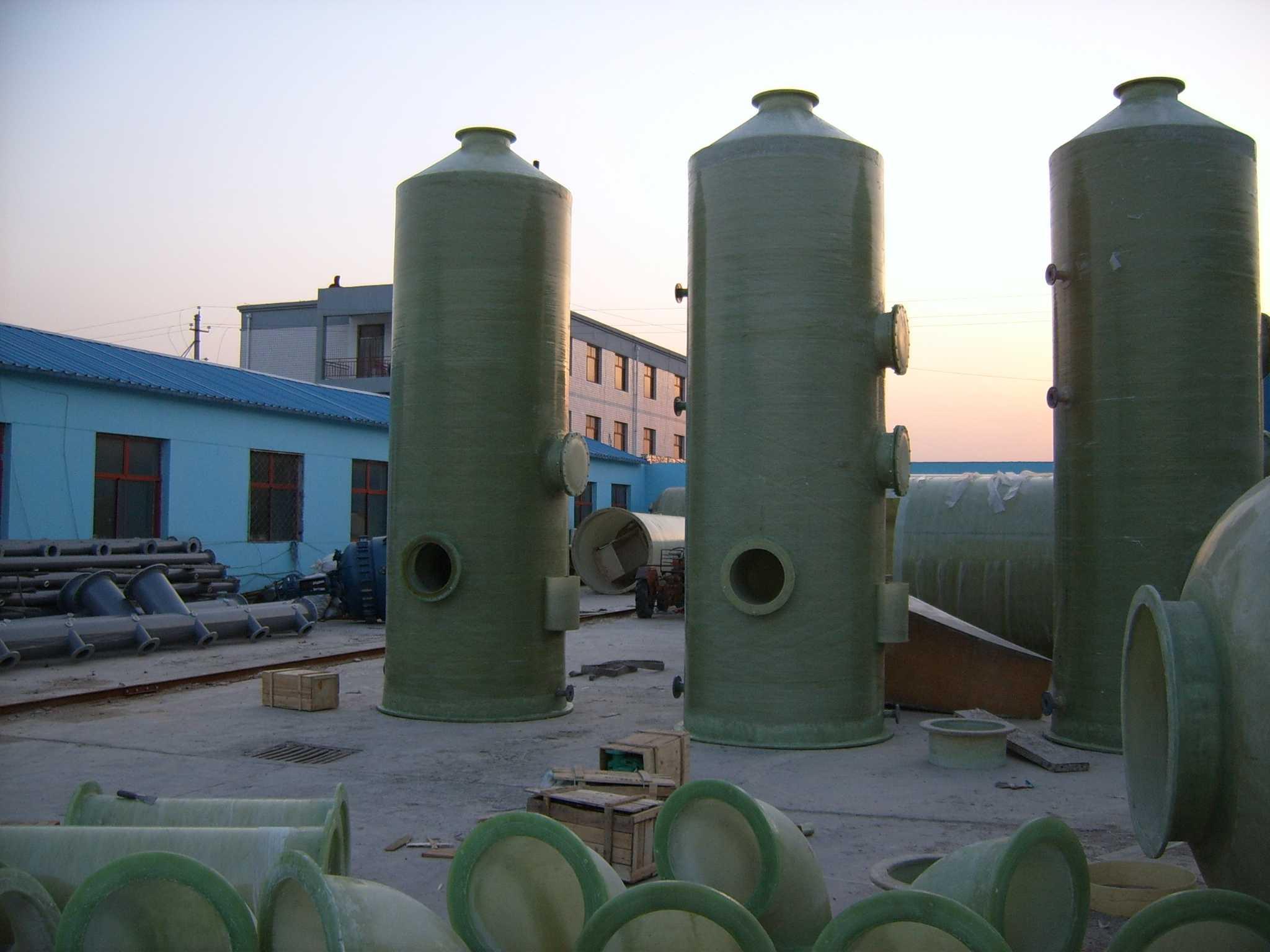 玻璃钢脱硫净化塔_玻璃钢净化塔_河北华盛节能设备有限公司