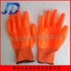 直销牛筋橘纱尼龙PVC满挂大全挂进口胶全胶型l防护劳保工作手套