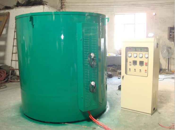 铁丝退火炉 广东井式电阻炉 线材拉丝热处理炉