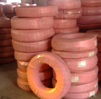 高压胶管供应EN 856 4SH型钢丝缠绕高压胶管液压油管