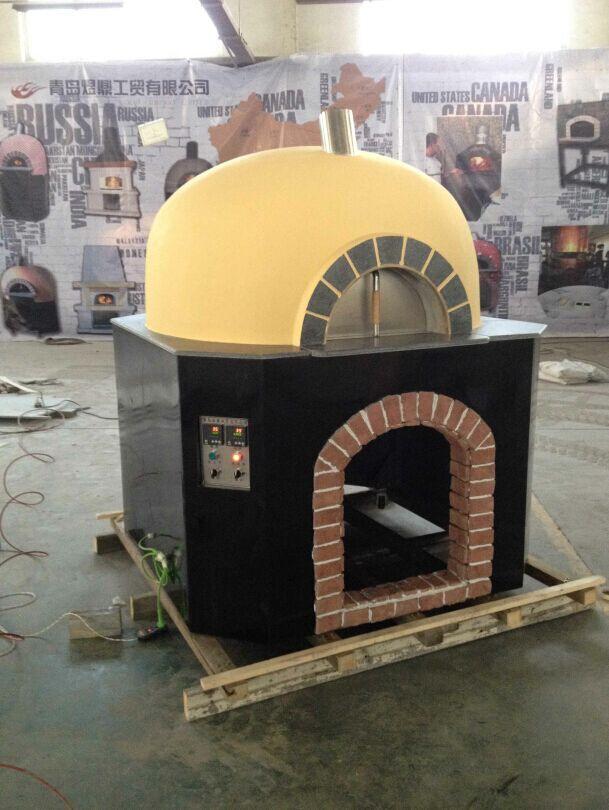 熔岩石薄饼披萨窑炉