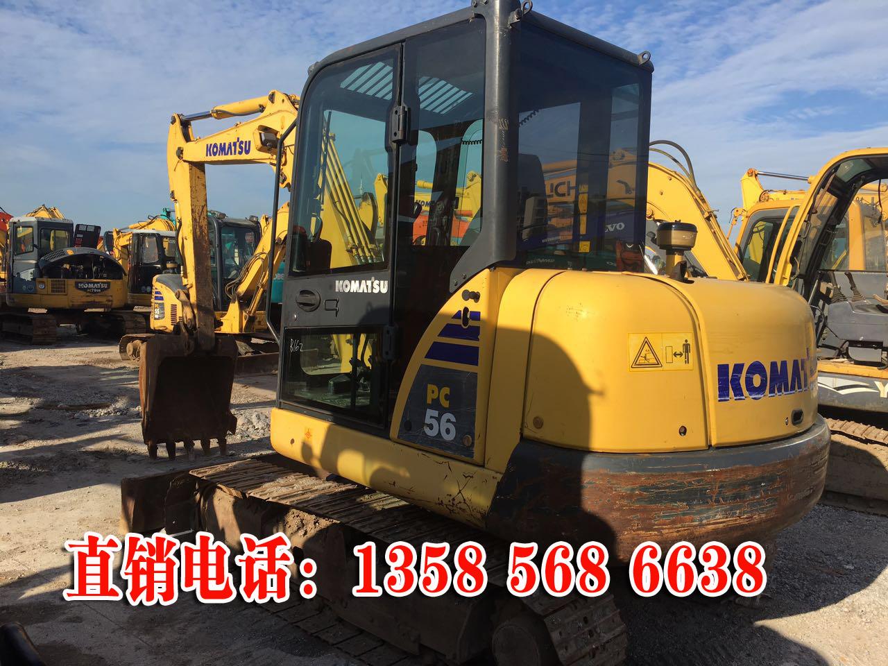 小松56-7二手挖掘机出售价格 图片性能