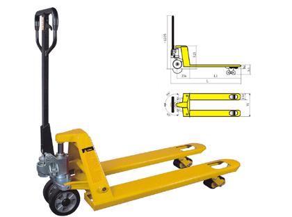 兖州手动液压车搬运车销售手动液压叉车批发电动堆高车15898821103