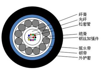 GYXTS-4B1 GYXTS-8B1埋地光缆防鼠光缆云南新疆四川