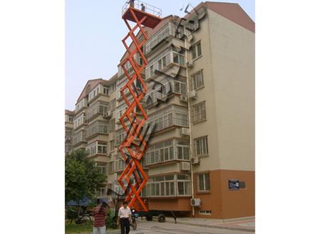 济南液压式货梯/导轨升降平台