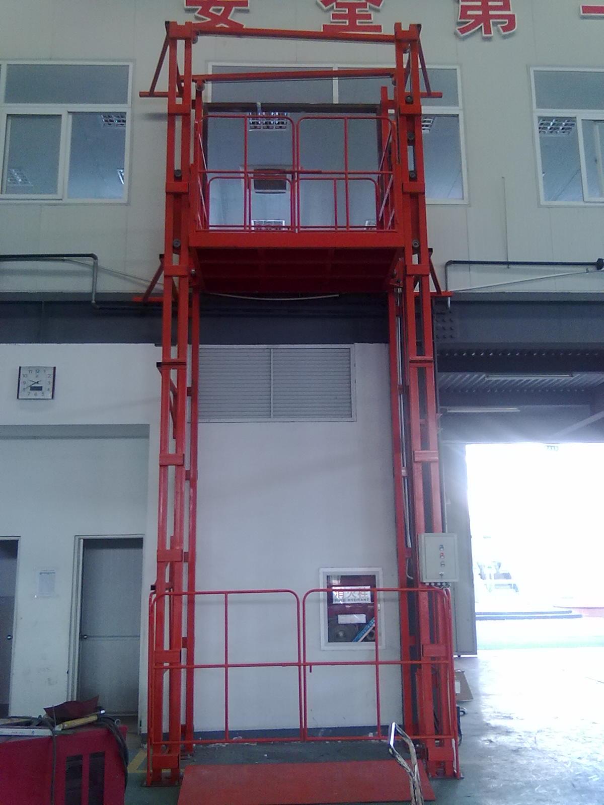 登车桥 长治液压电梯