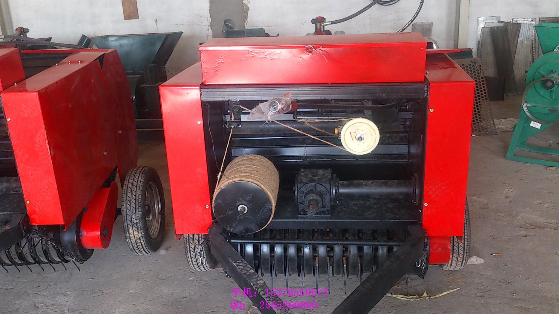 遵义麦草捡拾式打捆机  大豆秸秆打捆机