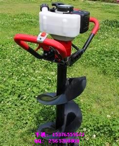 大马力拖拉机挖坑机 植树挖坑机临沧大棚专用汽油钻眼机