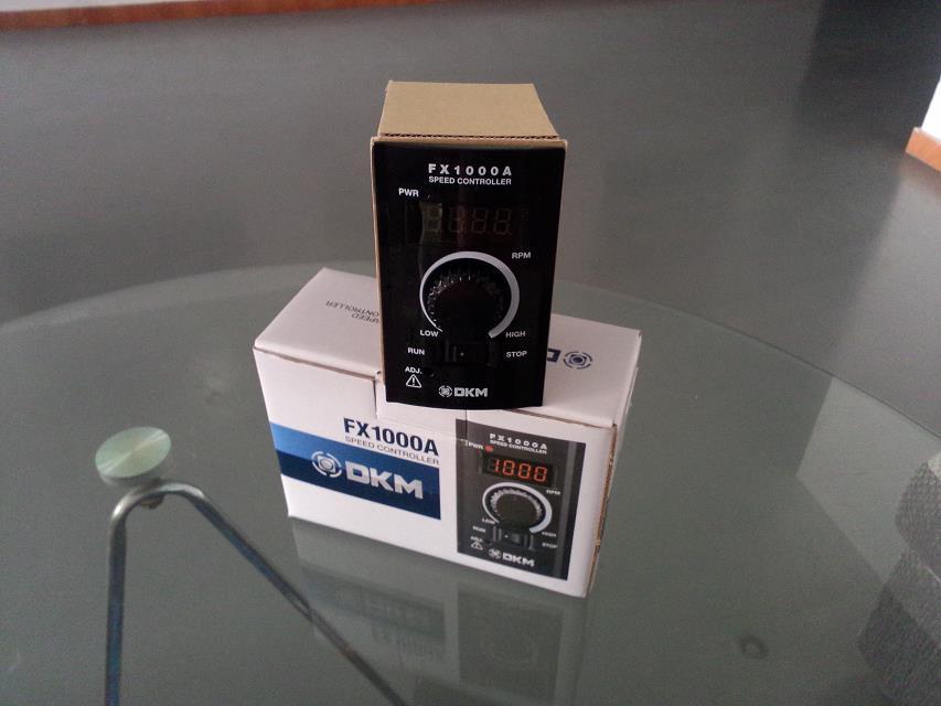 韩国DKM精密调速器配调速电机使用FX1000A可远程操控厂家直销
