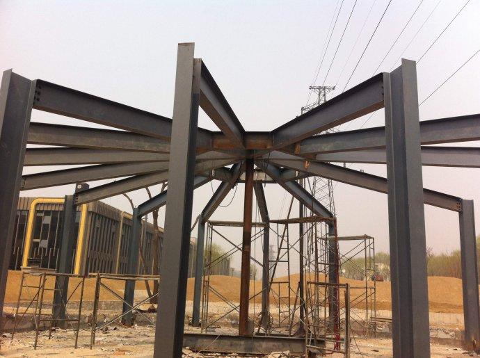 朝阳区钢结构隔层安装 钢结构平台二层