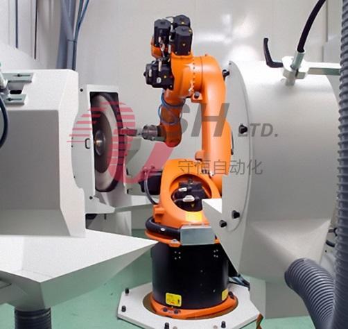 机器人抛光生产线