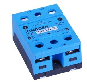原装正品希曼顿XIMADEN工业级交流固态继电器H375ZU