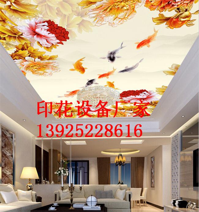 艺术吊顶3d平板印花机
