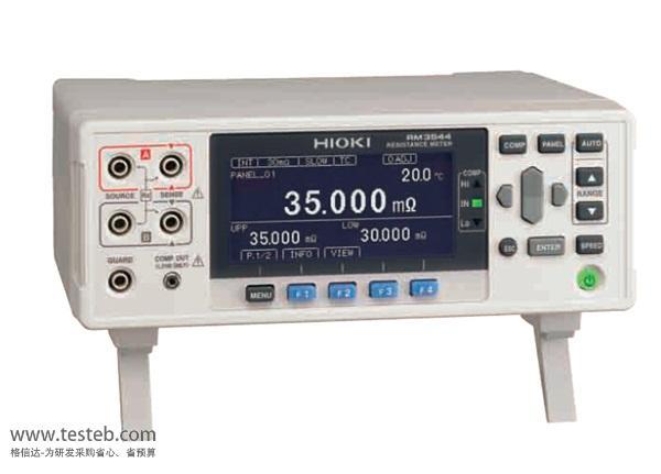 日本日置微歐計HIOKI RM3544高精度數字微歐計