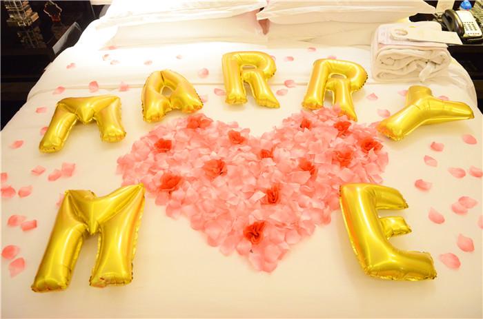 郑州气球装饰酒店浪漫求婚表白生日派对现场布置