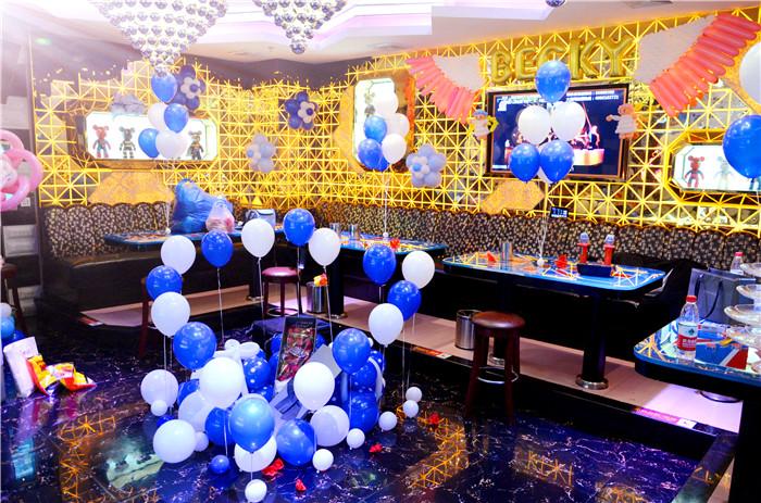 ktv求婚现场布置图片_郑州气球装饰高大上ktv浪漫 求婚 告白 布置 案例
