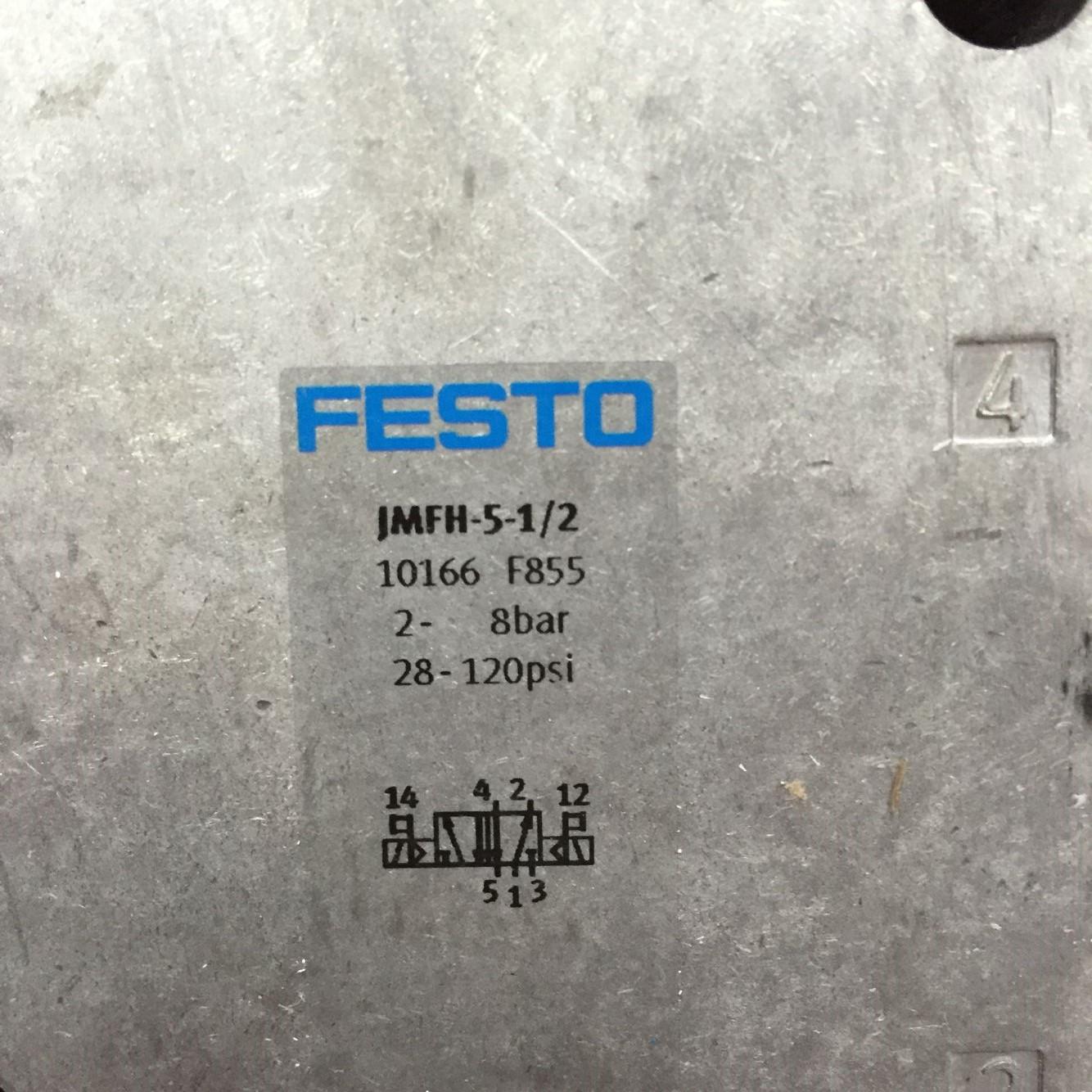 费斯托电磁阀MN1H-5/3B-D-1-S-C正品
