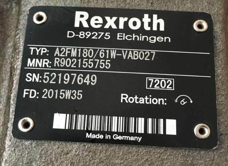 R900932171泵的全面保养