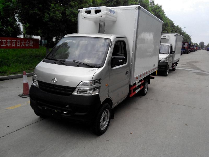 潍坊福田欧马可保温冷藏车厂家直销/多少钱一辆
