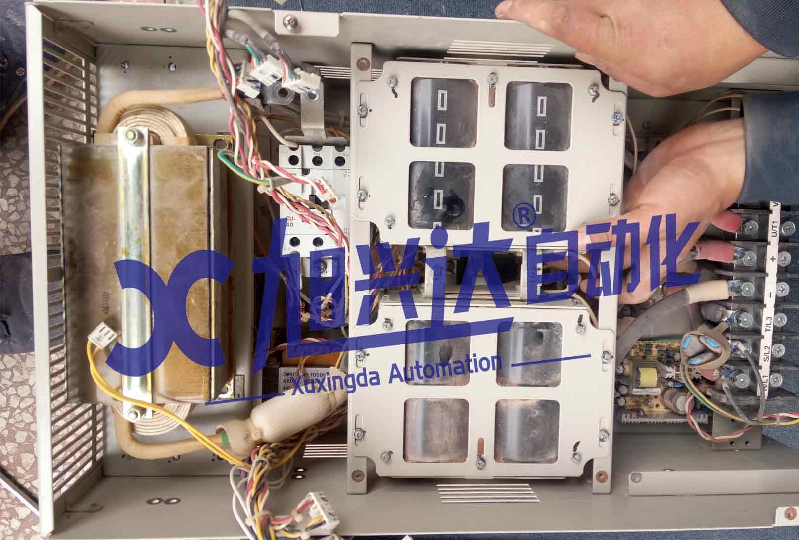 安川H1000变频器上电跳闸维修【长沙安川变频器维修中心】