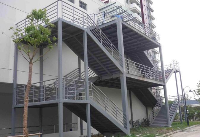 旧楼加建电梯井道价格- 旧楼加建电梯井道公司-深圳银河钢结构