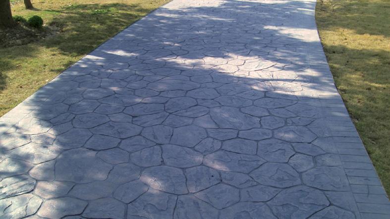 杭州透水地坪施工|临安压模混凝土|桐庐压花路面|淳安景观压印地坪