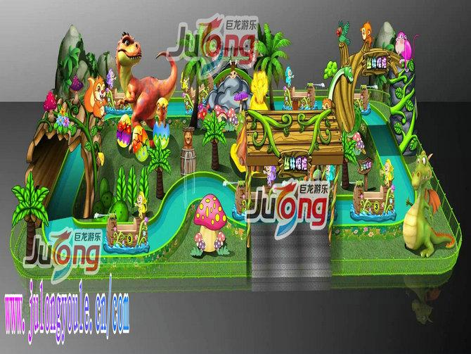丛林探险儿童新型游乐场游乐项目