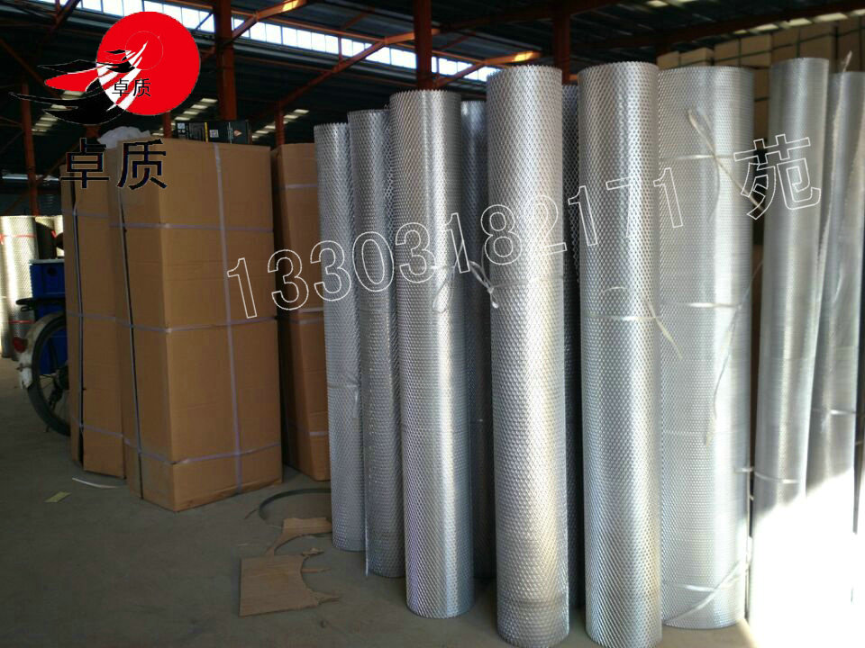 外墻裝飾鋁板網鋁單板幕墻卓質金屬網大量批發