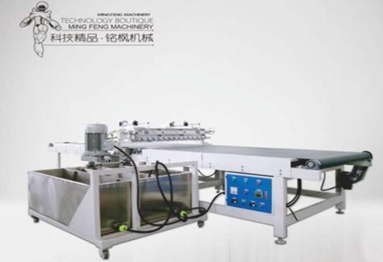 供应高性能淋涂机 铭枫专业定制淋涂机 面漆高光 UV光油淋幕机