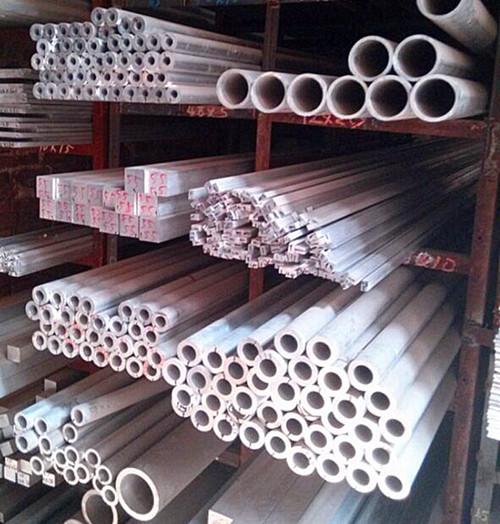 上饶6063矩形铝合金管价格 6061-T6T型铝型材现货