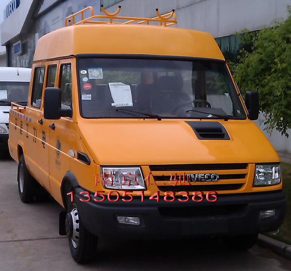依维柯6-9座得意款电力工程车 高顶