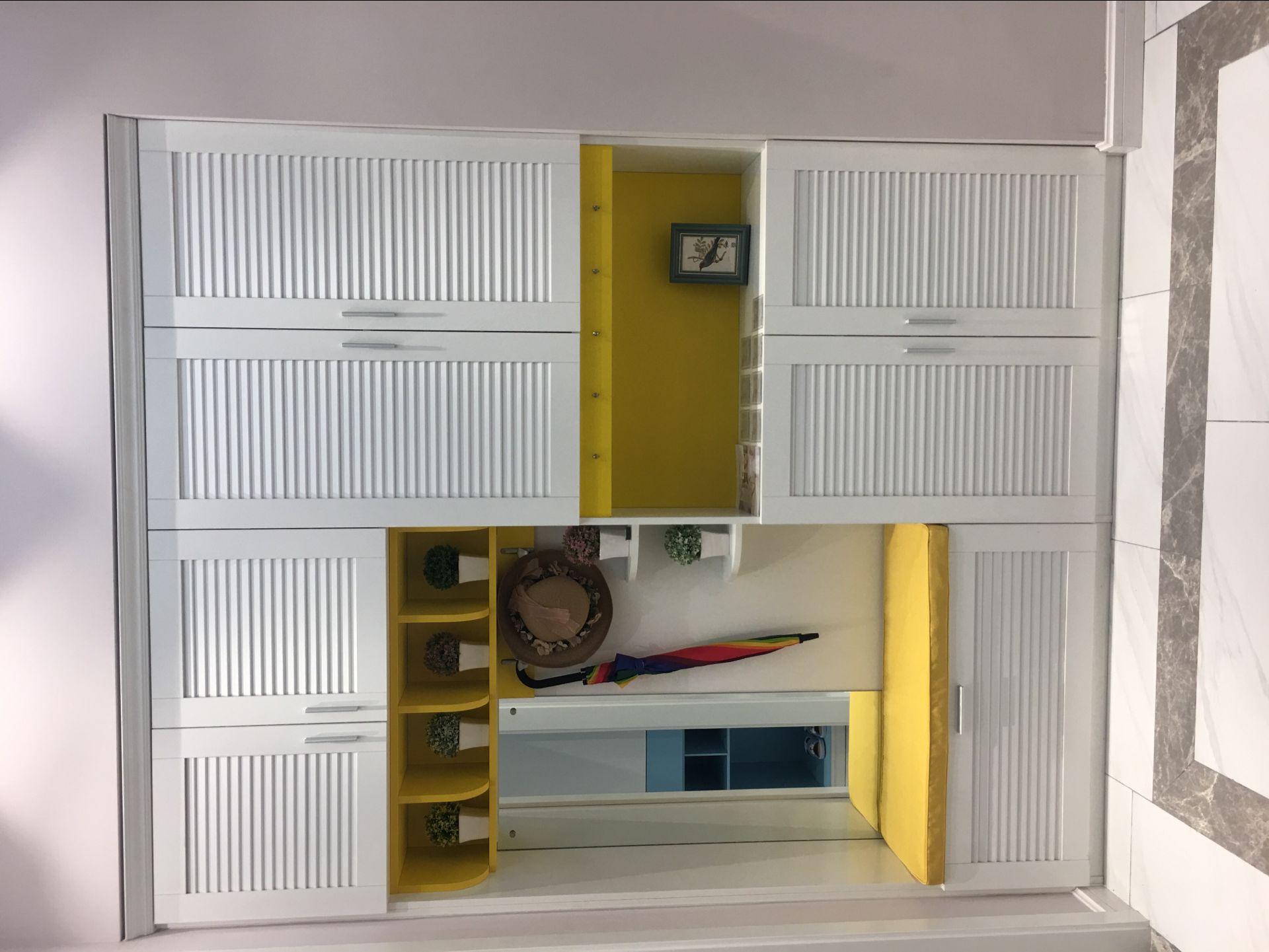 鞋柜定制高度 家用家具厂家定制款式 合肥衣柜图片