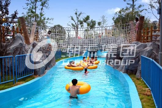 长隆水上乐园设备懒人河大型户外水上游乐设备
