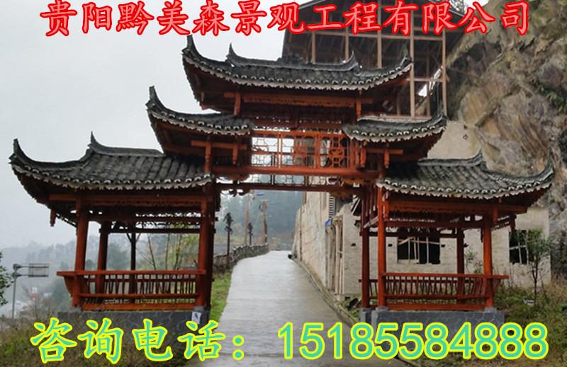 东兰来宾合山象州武宣忻城生产风雨桥、寨门
