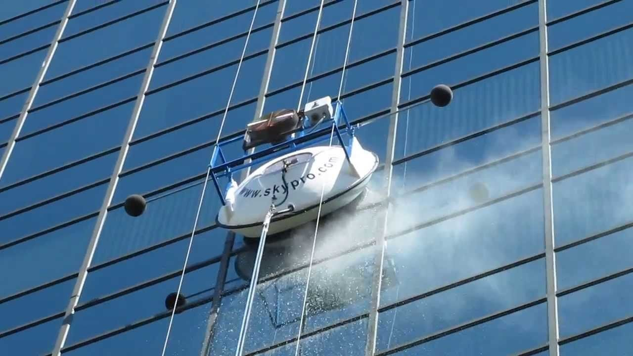 SERBOT Ⅰ非接触式高楼幕墙清洗机器人