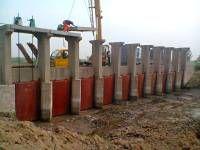 五家渠定制1.1米1.3米单向铸铁闸门货到付款厂家直供
