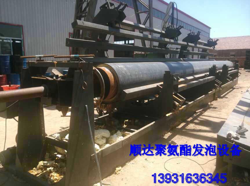 黄南1020-1420保温管道聚氨酯高压发泡机