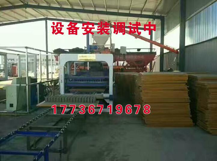 张家口市涿鹿县空心砖机多少钱