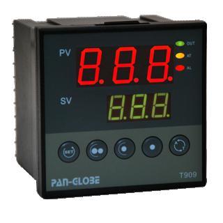 台湾泛达温控器T909A-101-100精简型温控表温控仪