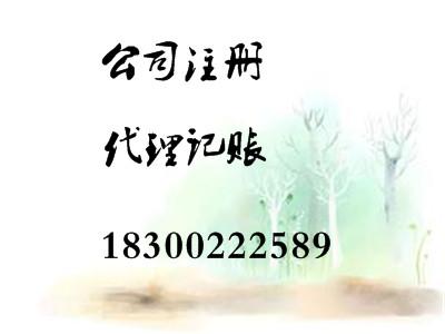 专业代理记账税务登记