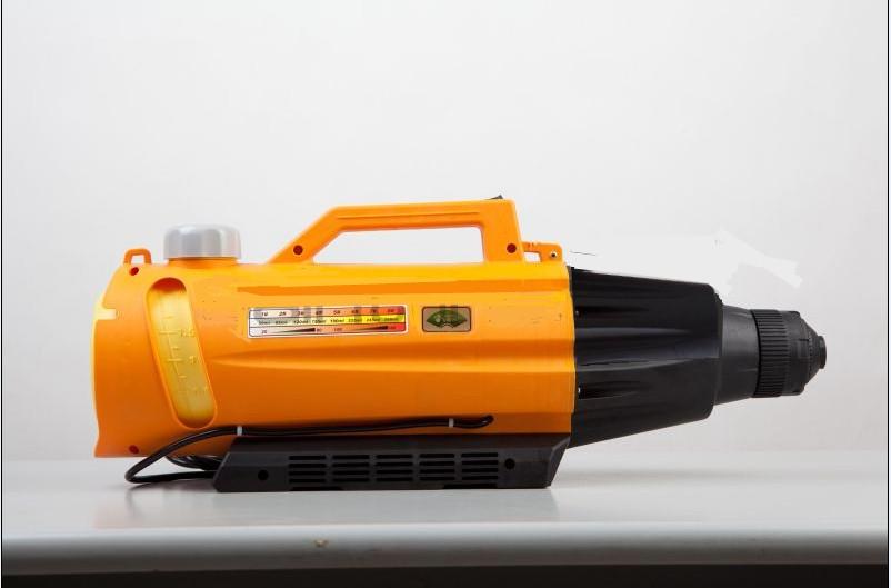 侯馬市大棚果園蔬菜殺蟲用電動彌霧機、消毒機