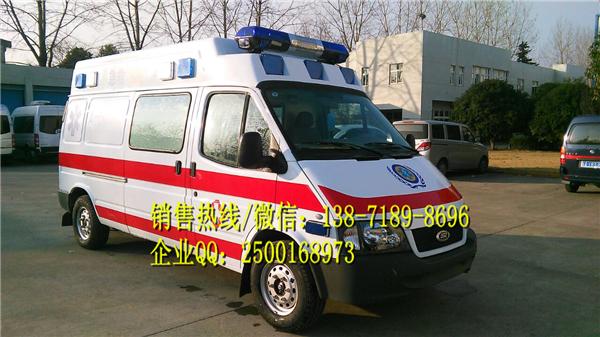 重庆城口县江淮瑞风M5救护车哪里有卖的?价格多少钱?