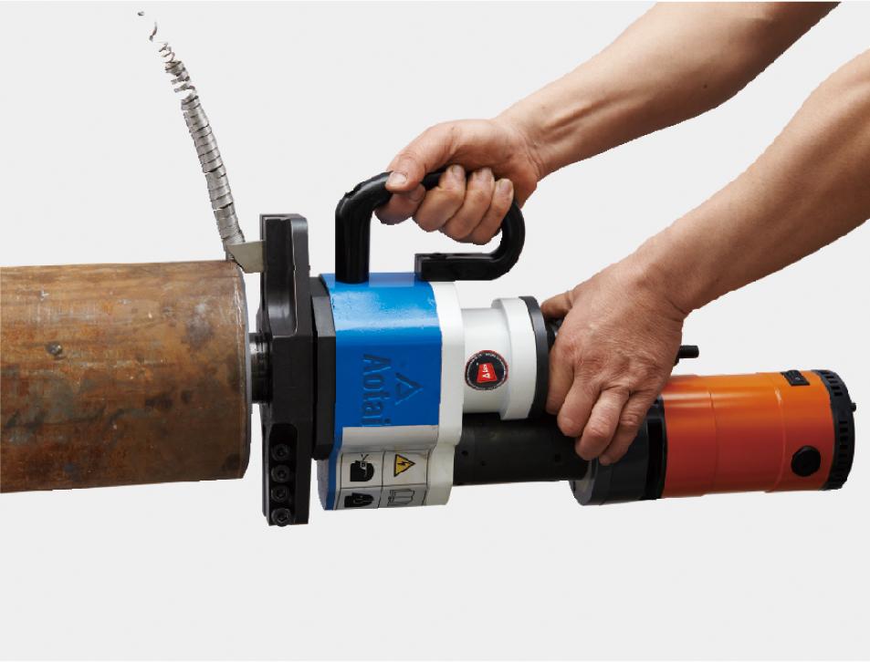 外部安装式电动管子切割坡口机