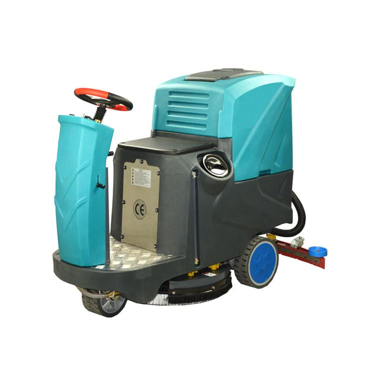 张家界驾驶式洗地机JC-90D 物业工厂超市洗地机