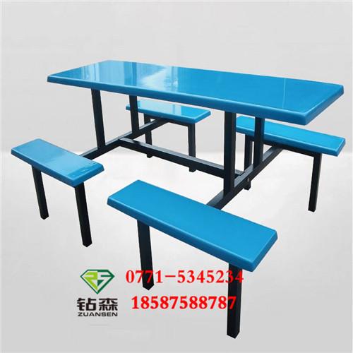 钦州学生钢制餐桌凳