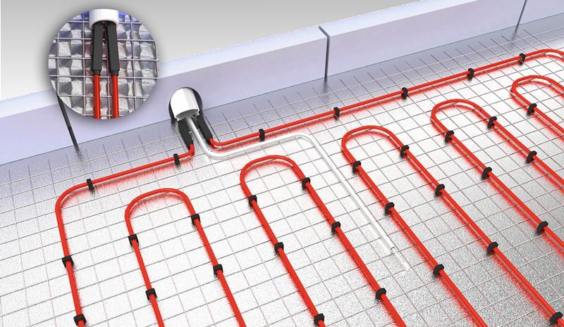 发热电缆,合金丝发热电缆