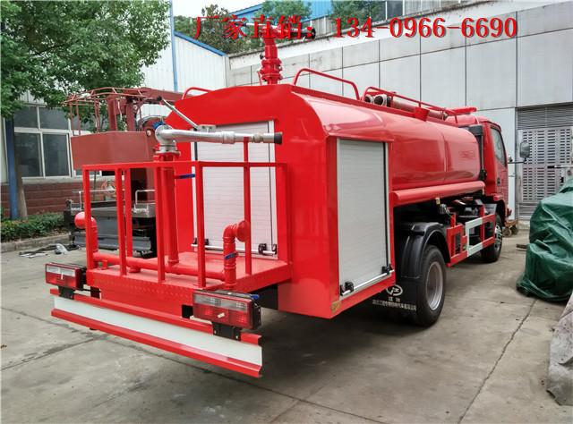 云南普洱景谷傣族彝族自治县6方五十铃水罐消防车销售代理商