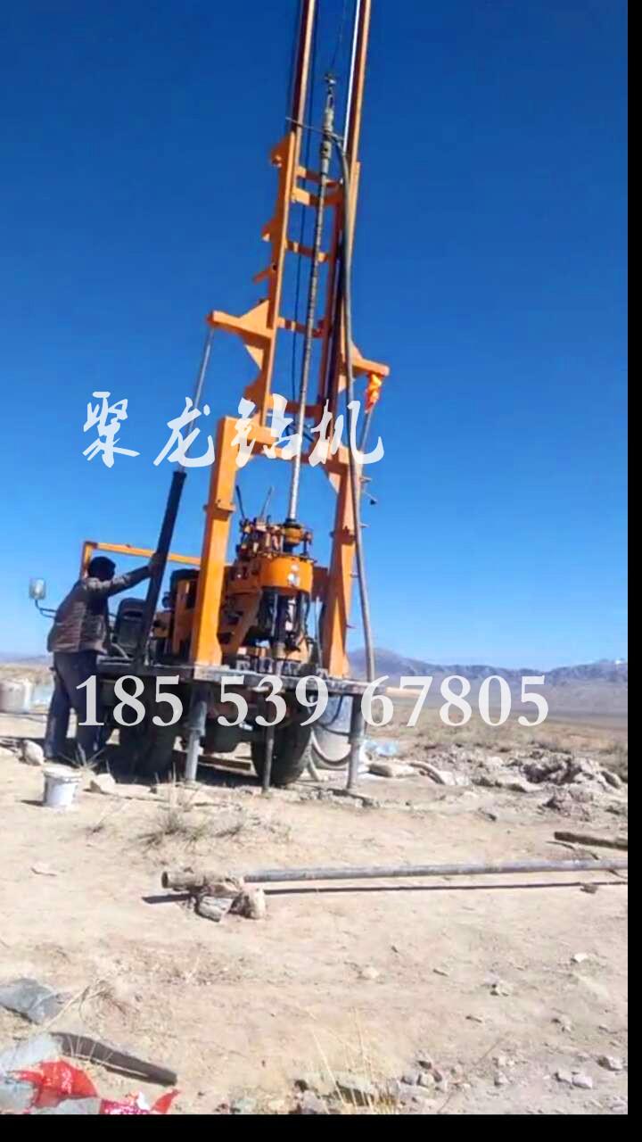 小型农村打井机机械设备/地质勘察钻井机/农用农村水井钻机