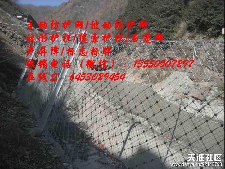 宁夏石嘴山市|被动防护网|被动网|批量生产厂家